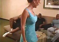 Beautiful Girl Giving A Robbing Orgy
