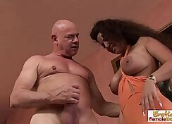 BBW excites delightsmr with smooth loping and cock sucking