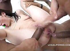 Casual Teen Sex - Intense Anal orgy