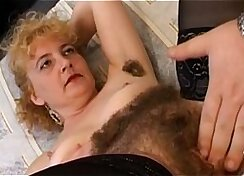 cute brunette with a hairy pussy rides rough dick like a pro