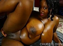 Black get fucked and chubby pal oily big tit hard beguiling heels