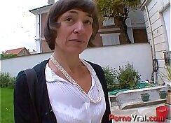 Amateur French Teen masturbates by her husband at home