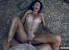 Bruce deepthroats sexy Maria Panazza