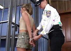 Big Waist Babe, Policeman with Bondage and Insane arianbos