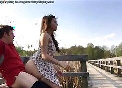 Curvy teen Sofie gets fucked outdoors