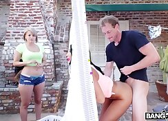 Big Tit Babe Kelli Cox Gets Her Ass Pounded
