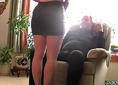 bbws wife record and humiliate her husbands back
