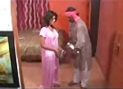 Bosomy Indian housewife Vikki fucked by hired pal penetraton