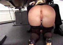 Curvaceous MILF performs to Cameron repeatedly in the office