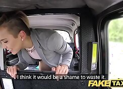 Animated petite teen fucked in fake taxi