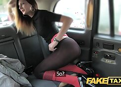 An amateur anal violation exposed and by taxi driver