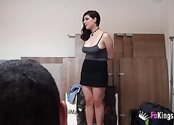 Busty Spanish Harmony Rojo in BF rosisses a minute of chocolate